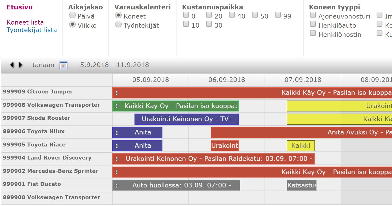 autokal-toiminnanohjausjärjestelmä-kalenteri